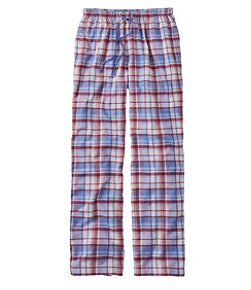 Women's L.L.Bean Flannel Sleep Pants, Plaid