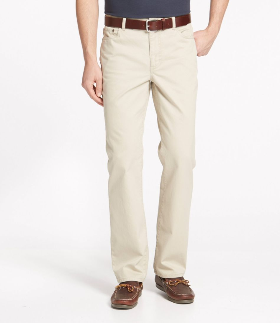 Lakewashed Five-Pocket Khakis, Standard Fit