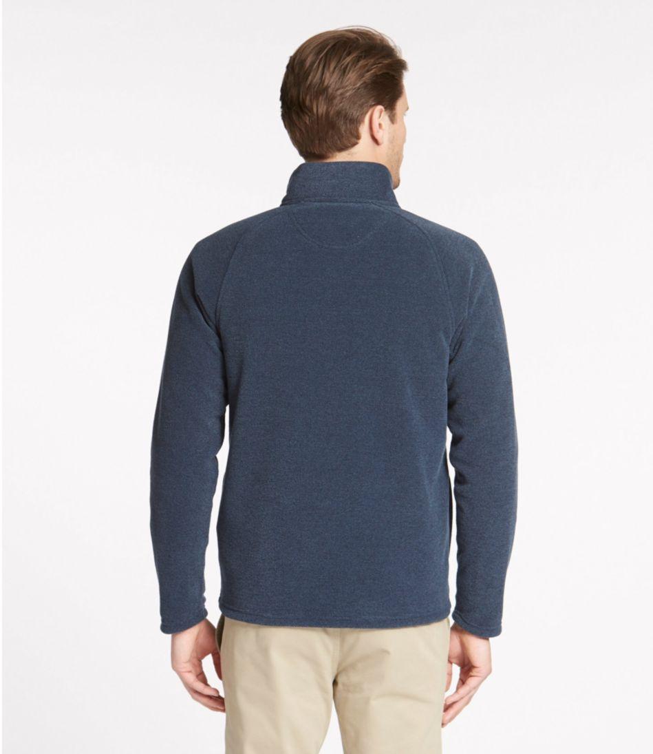 PrimaLoft Textured Fleece Quarter-Zip, Slightly Fitted