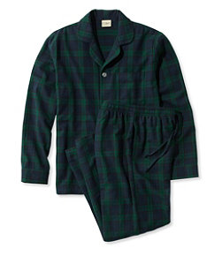 Men's Scotch Plaid Flannel Pajamas