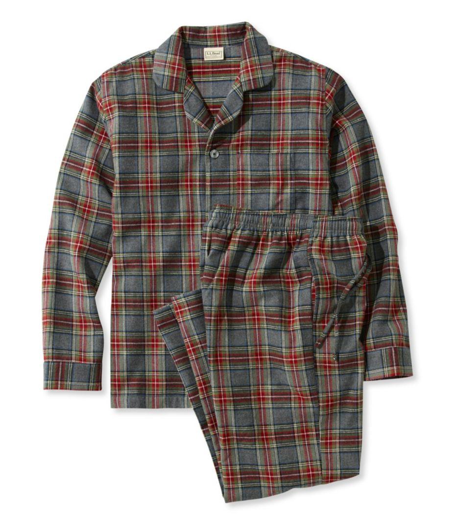 Scotch Plaid Flannel Pajamas. Item   PF500244. (242) 4d52a9117