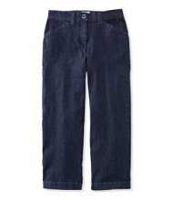 Women's Easy-Stretch Pants, Cropped Denim