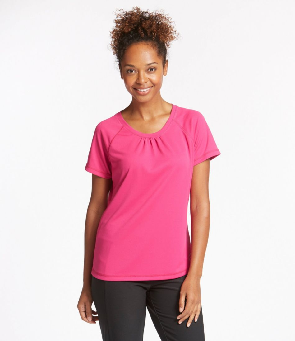 BeanSport Crewneck Tee, Short-Sleeve