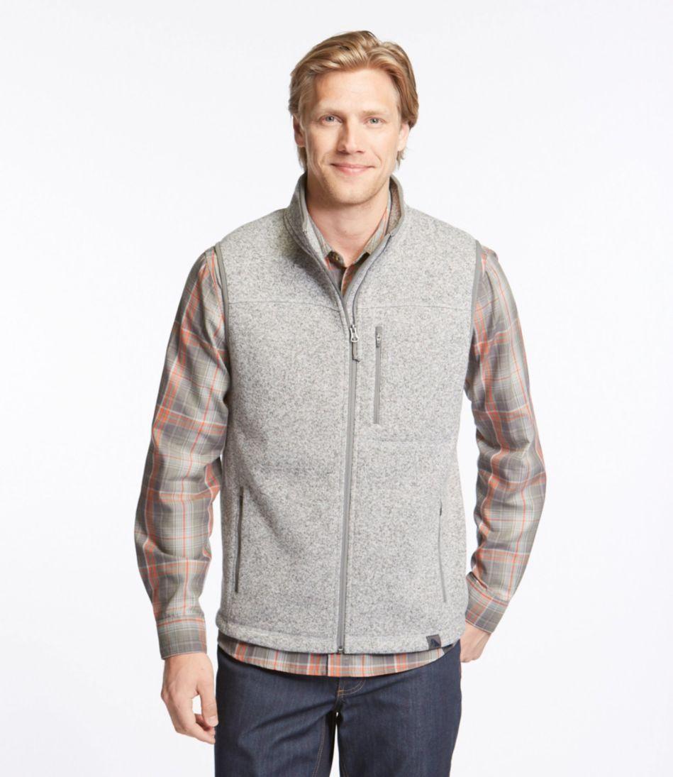 Llbean Sweater Fleece Vest
