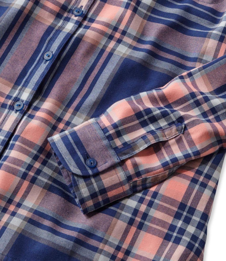L.L.Bean Fall Flannel Shirt, Plaid
