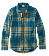 Women's L.L.Bean Fall Flannel Shirt, Plaid