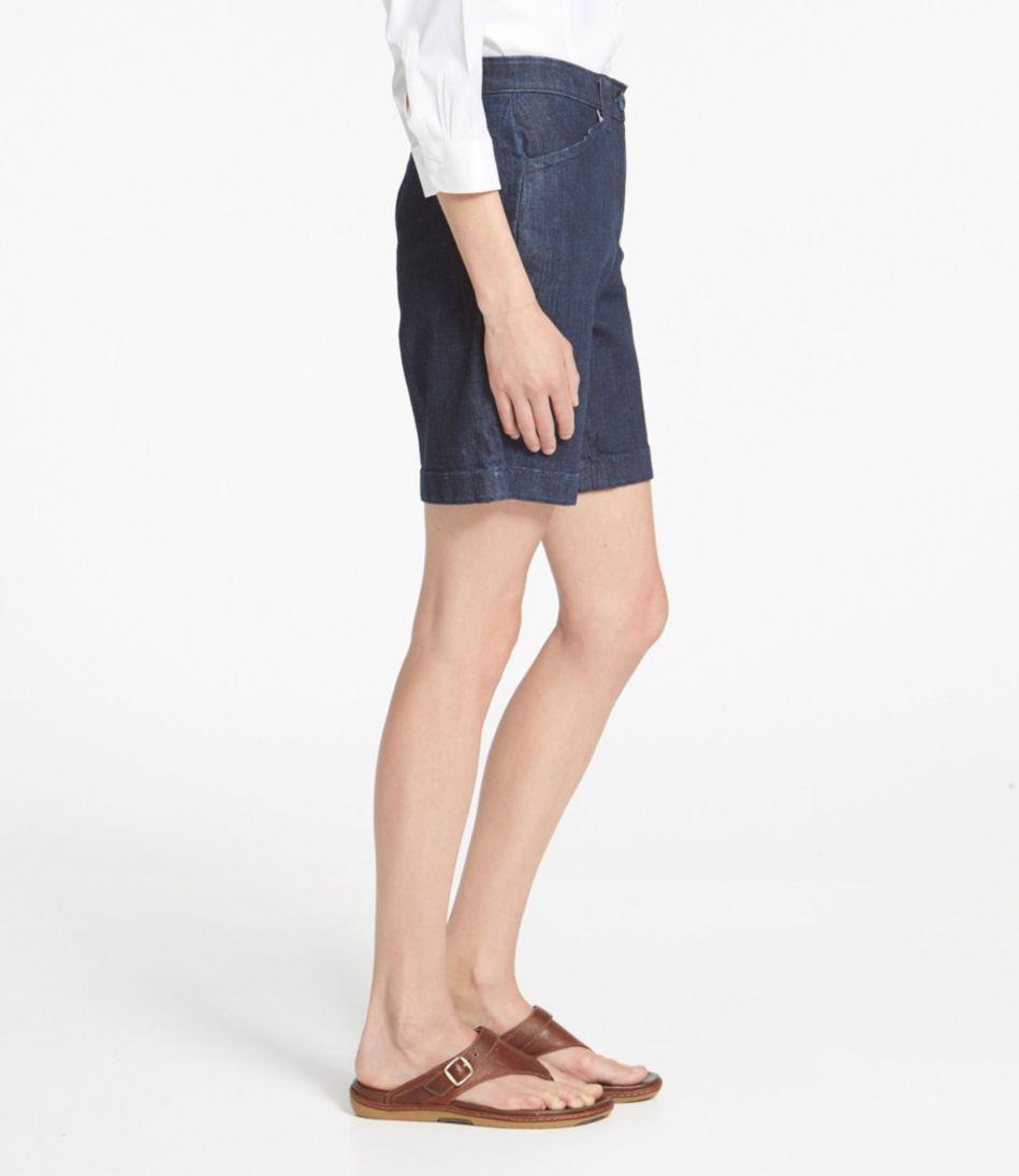 Easy-Stretch Shorts, Denim