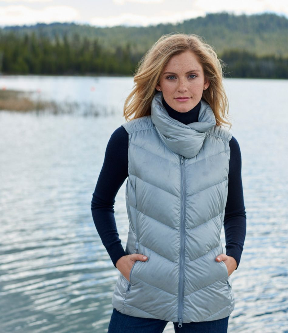 Warm and Light Down Vest
