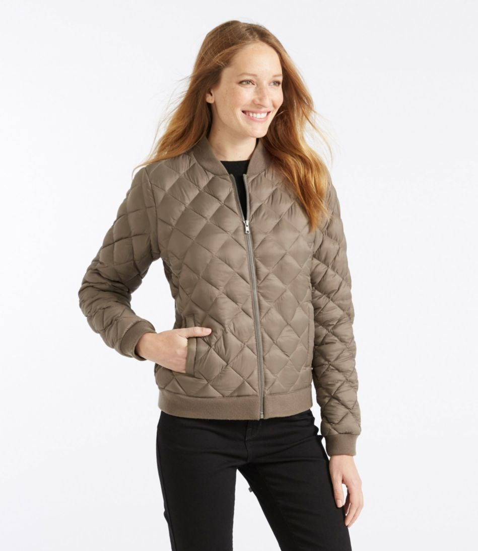 L.L.Bean Puff Bomber Jacket