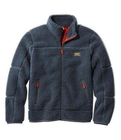 Men's Mountain Pile Fleece Jacket | Free Shipping at L.L.Bean