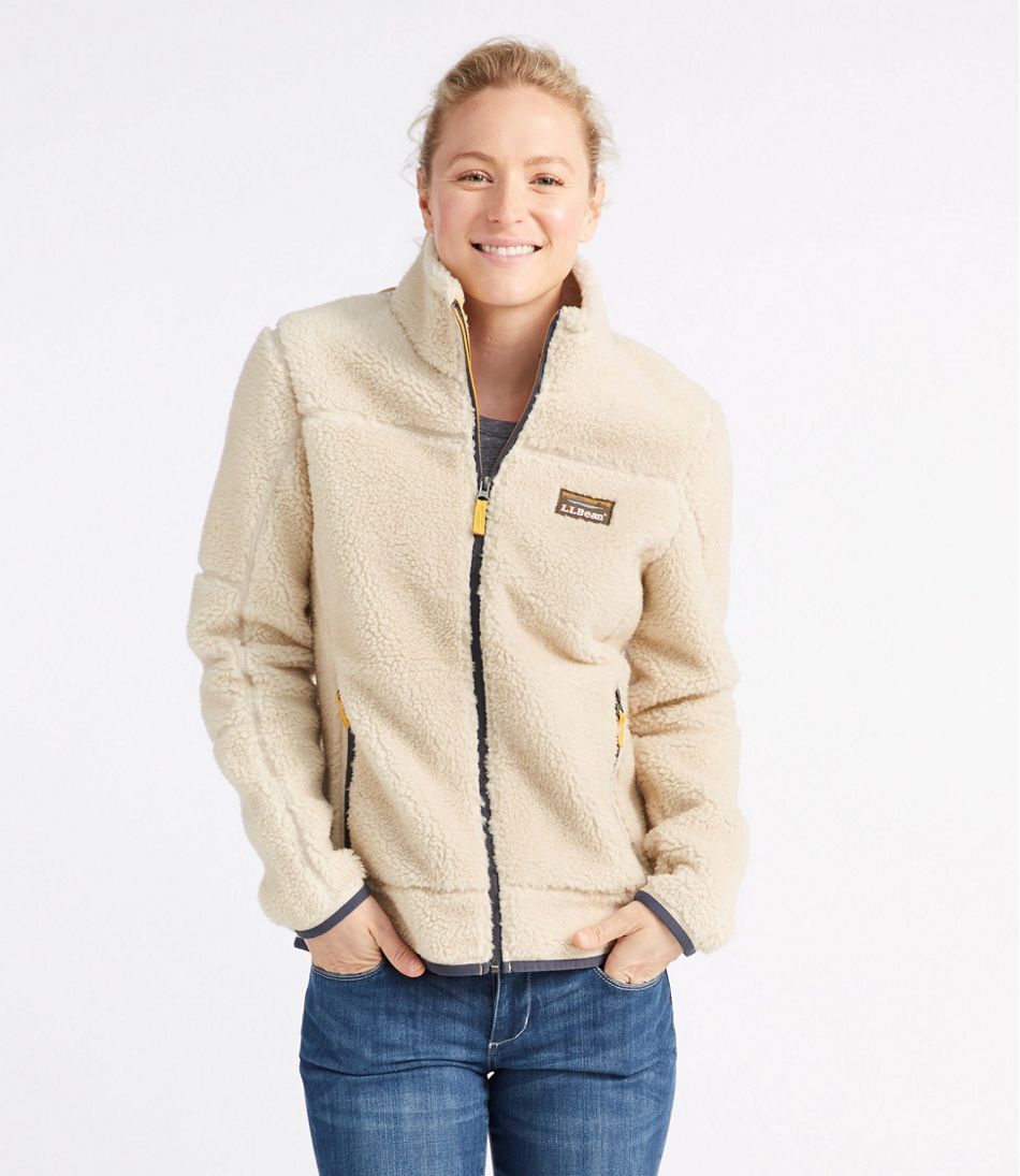 Women's Mountain Pile Fleece Jacket