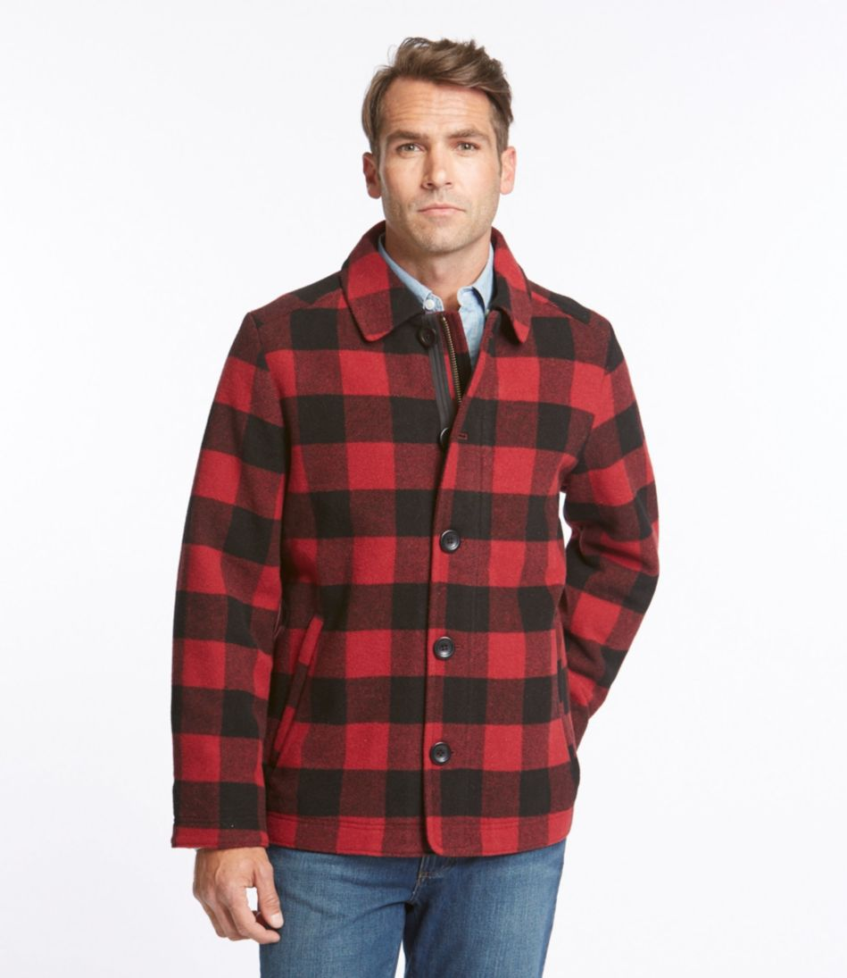 L.L.Bean Wool Jacket, Plaid