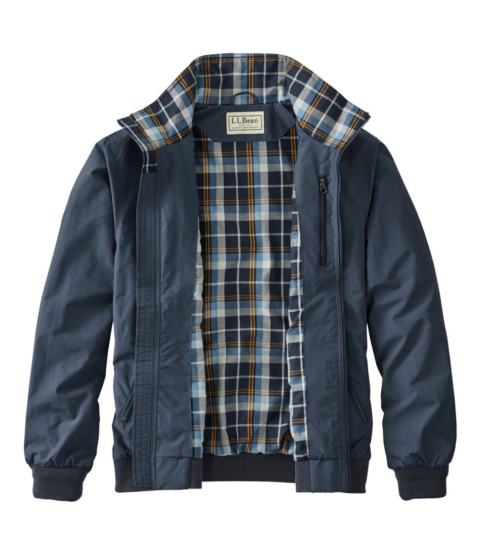 Warm-Up Jacket, Flannel-Lined