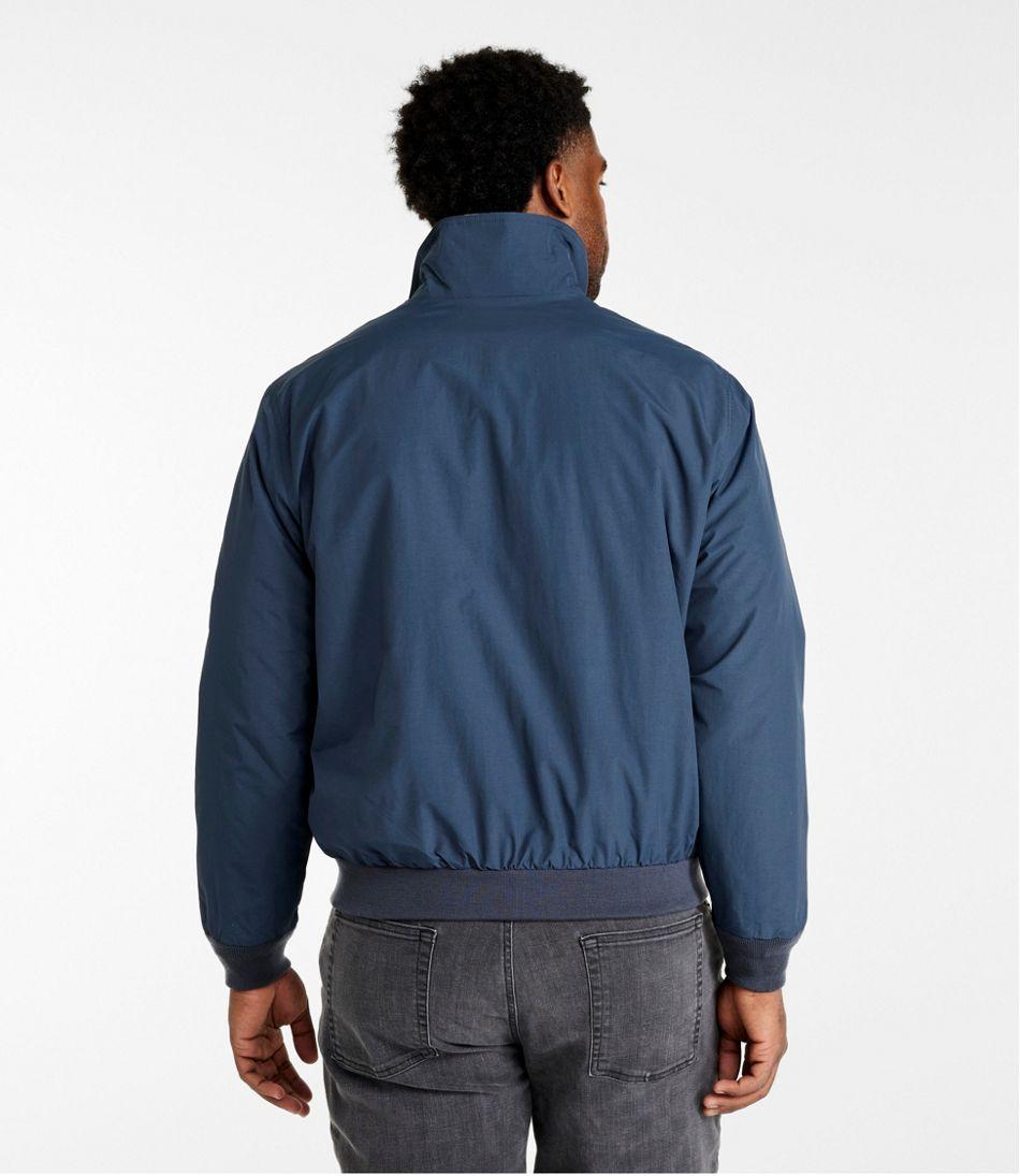 Men's Warm-Up Jacket, Flannel-Lined