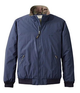 Men's Warm-Up Jacket, Flannel-Lined