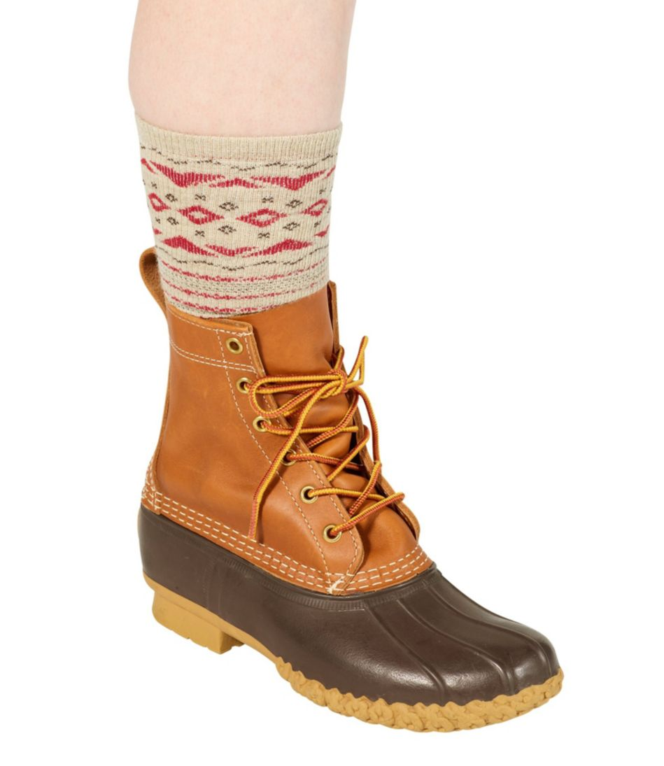 Graphic Boot Socks, Two-Pack