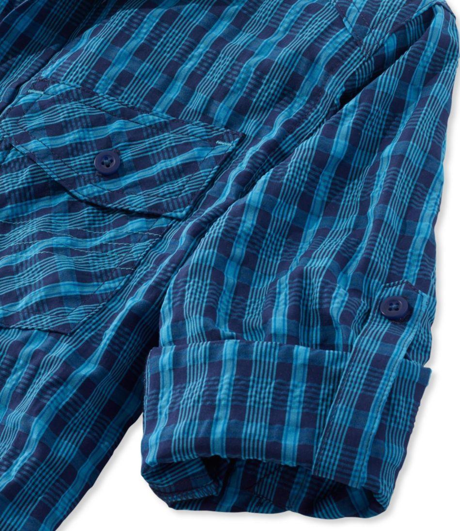 Boys' Cool Weave Shirt Plaid
