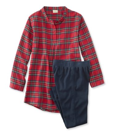 Girls' Flannel Sleepwear Set