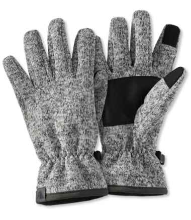 Men's Windproof Sweater Fleece Gloves
