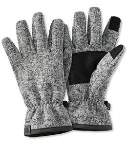 Men's Windproof Sweater Fleece Gloves