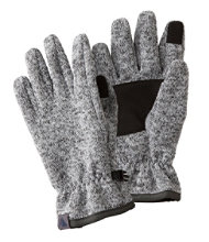 Women's Windproof Sweater Fleece Gloves