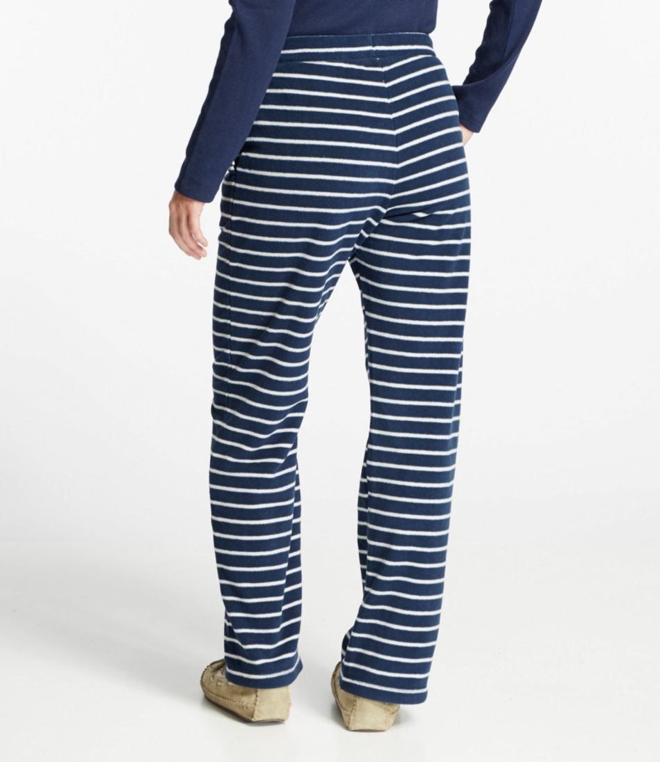 L.L.Bean Fleece Sleep Pants, Print
