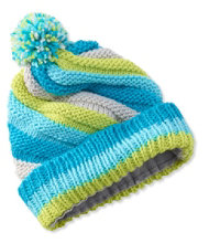 Girls' Snowscape Twist Hat