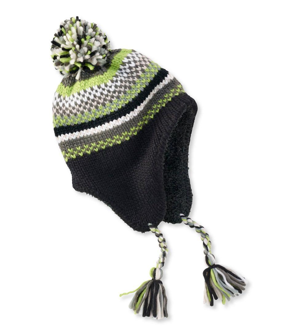 Kids' Peruvian Pom Hat