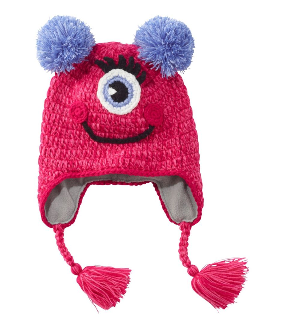 Toddlers' Critter Hat, Smile Monster