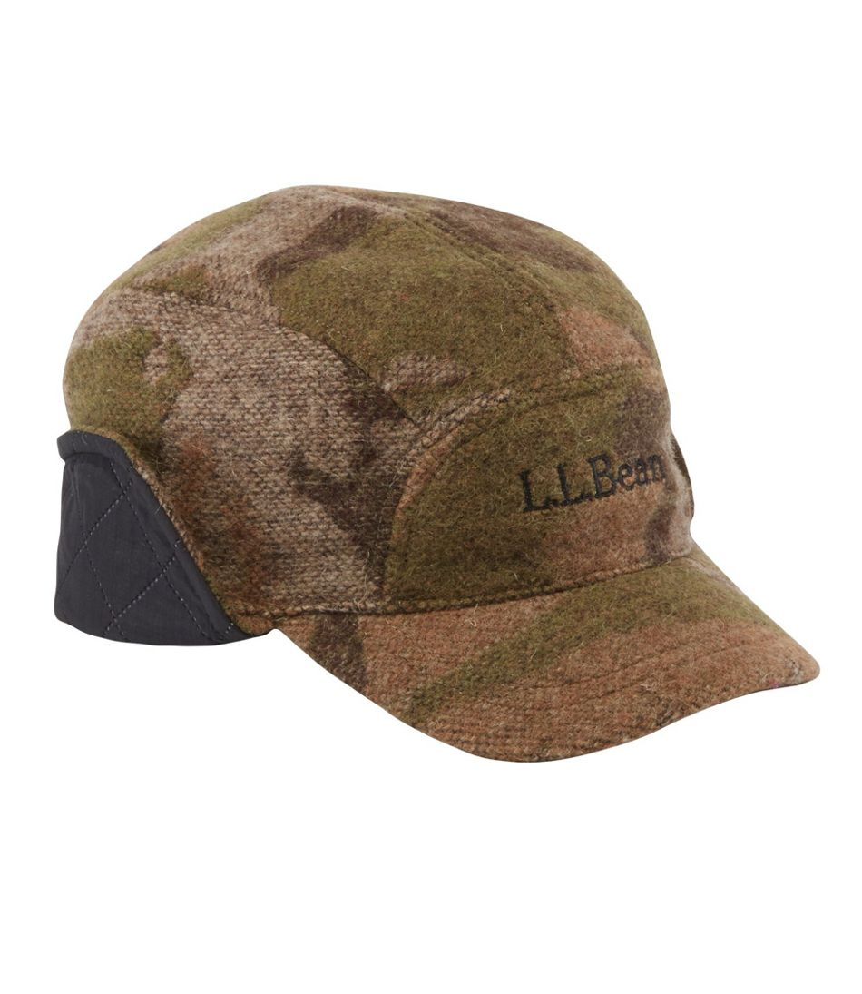 Adults' Maine Guide Wool Cap with PrimaLoft, Camouflage