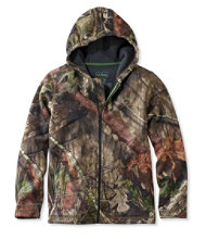 Kids' Northwoods Jacket, Camouflage