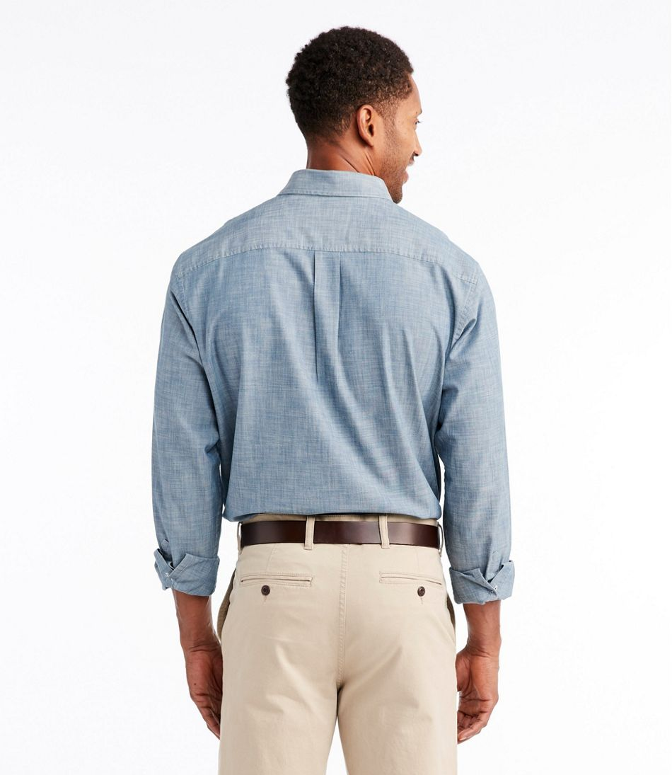 ea94bc278e0 Men s Easy-Care Chambray Shirt