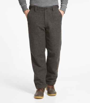 Men's Maine Guide Wool Pants with PrimaLoft, Plaid