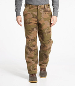 Men's Maine Guide Wool Pants with PrimaLoft, Camouflage