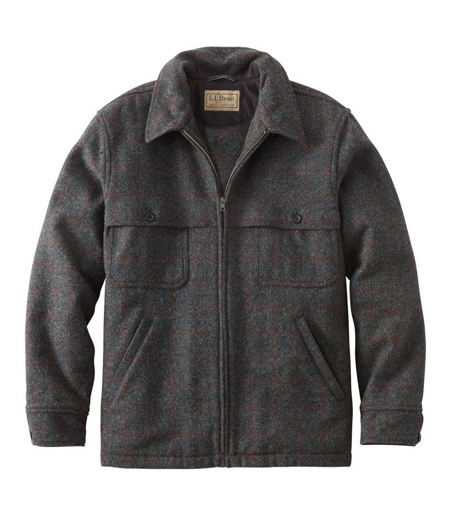 Men's Maine Guide Zip-Front Jac-Shirt, Plaid