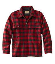 Men's Maine Guide Zip-Front Jac-Shirt, Plaid