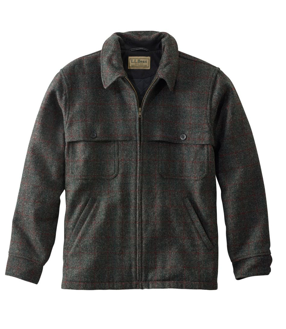 Maine Guide Zip-Front Jac-Shirt with PrimaLoft, Plaid