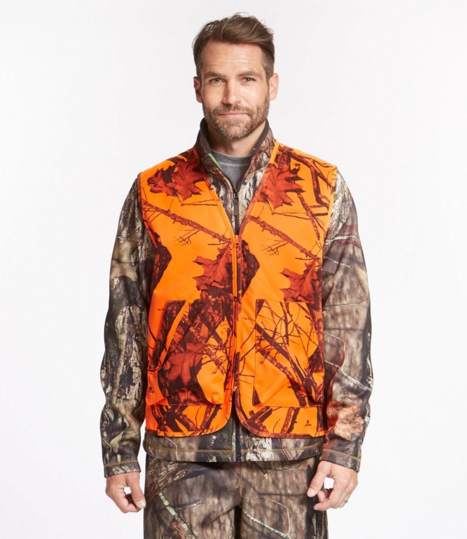 Big Game Hunting Safety Vest, Camouflage