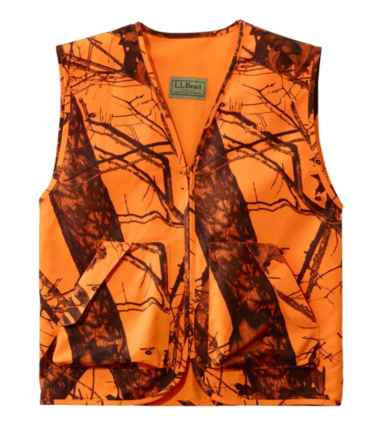 Big Game Hunting Safety Vest, Camouflage