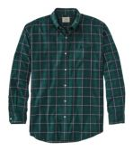 Men's Wrinkle-Free Mini-Tartan Shirt, Traditional Fit