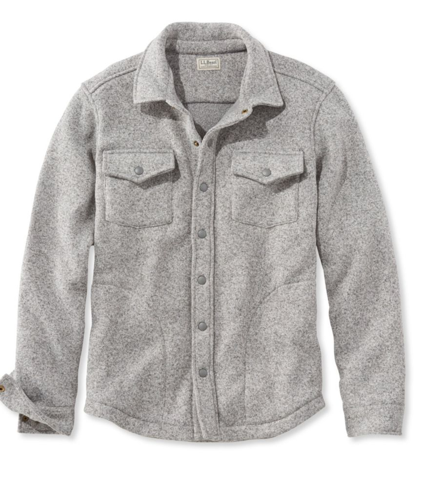 photo: L.L.Bean Sweater Fleece Shirt-Jac