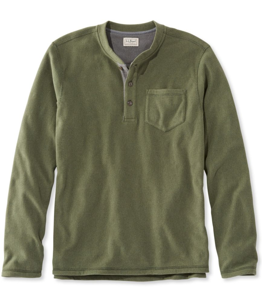 L.L.Bean Fleece Layering Henley