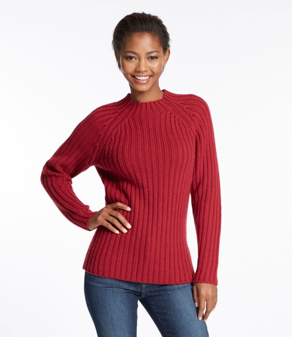 Chunky Ribbed Sweater, Pullover