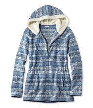 Women's Fair Isle Fleece-Knit Jacket, Print