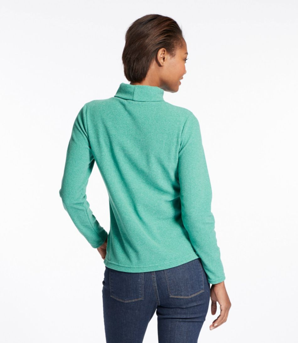 Fitness Fleece Turtleneck