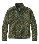 Men's L.L.Bean Sweater Fleece Pullover, Print