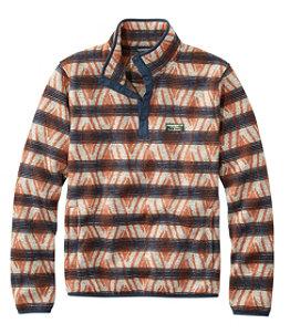 Men's L.L.Bean Sweater Fleece Pullover, Print