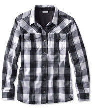 PrimaLoft Performance Flannel Shirt, Lined Plaid