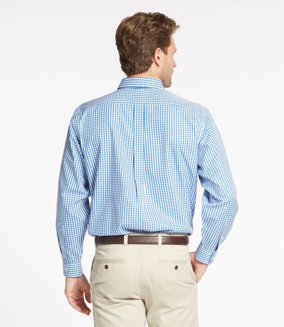 Wrinkle-Free Pinpoint Oxford Shirt, Traditional Fit Gingham