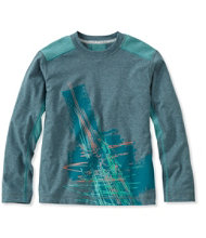 Boys' Pathfinder Tee, Long-Sleeve Graphic